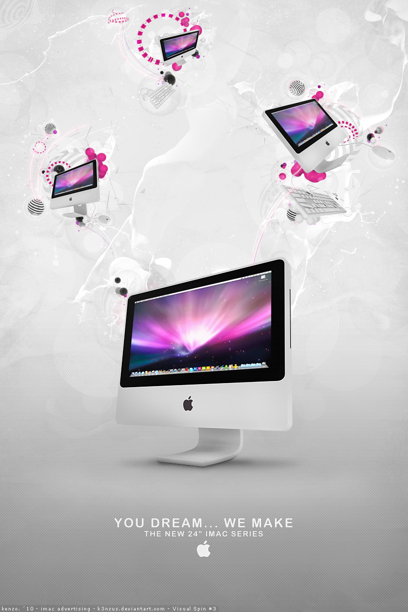 iMac Advertising + Tutorial by K3nzuS