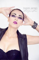 Purple glam by AnaLuSauceda