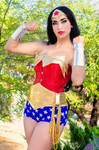 Wonder Woman I by AnaLuSauceda