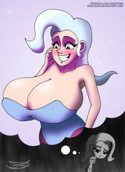 MLP - The breast and powerful Trixie by RingTeam