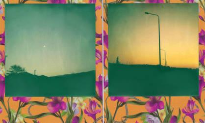 Moonrise Sunset by LNePrZ