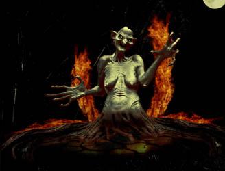 Cruel Mother by jackodeco