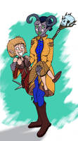 Inquisition: Sera and her Adaar by magusVroth