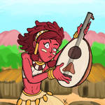 Indivisible Day 14: Zahra by magusVroth