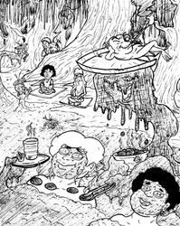 Inktober Day 23: Muddy by magusVroth