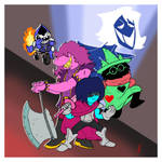 Deltarune Crew by magusVroth