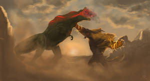A Fatal Fight by Lone-Scarab