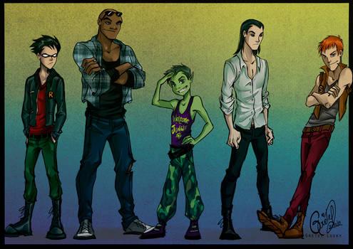 Titans fashion III by Gretlusky