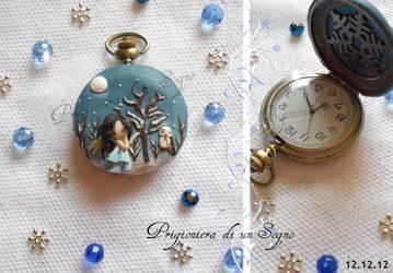 clock winter by PrigionieradiunSogno