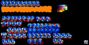Mania Sonic Sprites (Retired) by Alex13Art
