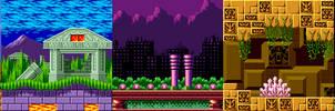 Sonic 1 Zones Mania by Alex13Art