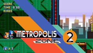 Metropolis Zone Act 2 Sonic Mania by Alex13Art
