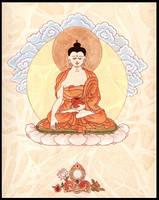 Buddha Shakyamuni by IngeVandormael