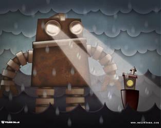 Iron Giant by WeirdBean
