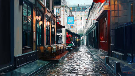 The Streets of Paris by tonyhurst