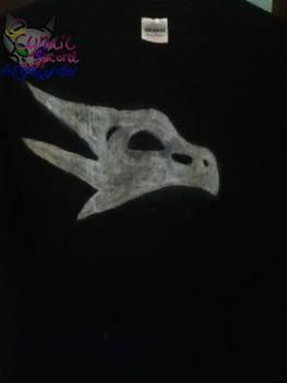 CynderAngel Skull Design for T-shirt by AngelCnderDream14