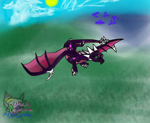 Cnder Flying in Dream World by AngelCnderDream14