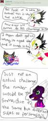 CynderAngel Answer Bunny Challenge by AngelCnderDream14