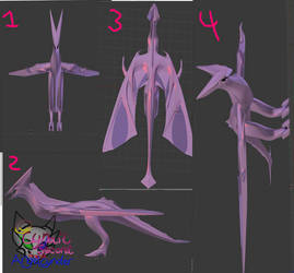 Dragonmodelatwork2 UPDATE! by AngelCnderDream14