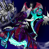 Cynder Summon undead by AngelCnderDream14