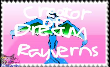My DreamRayvern Stamp by AngelCnderDream14