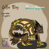 Griffen Wing by AngelCnderDream14