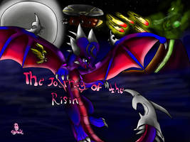 The Journey Of The Risin Comic book cover by AngelCnderDream14