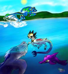 Dream Rayverns Summer Fun by AngelCnderDream14