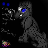 Shadownut  The shadow bird by AngelCnderDream14