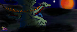Payment for Nuwer-Designs Dragon night flight by AngelCnderDream14