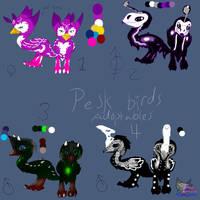 Prest birds adoptables #1 FREE! OPEN! IUPDATE! by AngelCnderDream14