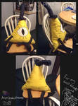 Bill Cipher Plushie 2018 by AngelCnderDream14