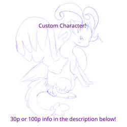Custom character POINTS! OPEN! by AngelCnderDream14
