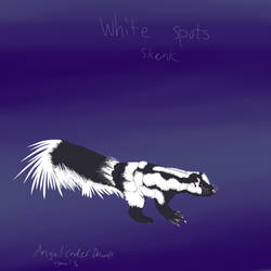 Raptorrs skunk by AngelCnderDream14