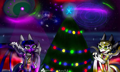 Merry New Year 2019 by AngelCnderDream14