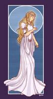 Lady of Lorien by gradevus