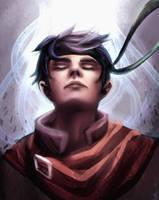 Radiant Hero by gradevus