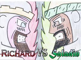 Richard vs Saladin by TheFlyingSniper