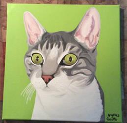 Green Eyed Cat by Rumpy1993