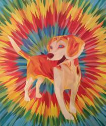 Peace, Love, Beagle by Rumpy1993