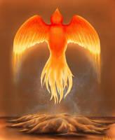 Phoenix Reborn by KatrinaBonebrake