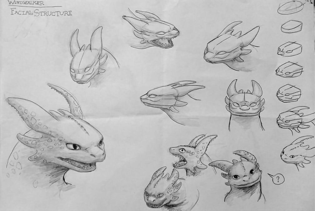 How I Draw Windwalker Nightfury By Atrieisan On Deviantart