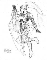 $20 Mala - Superman TAS by GhostYurei