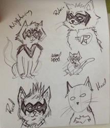 cat!Robins by Ren-o27