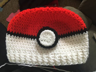 Pokemon Crochet Hat by deathlover2006