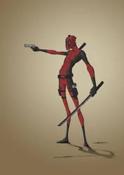 Deadpool by SiluSP