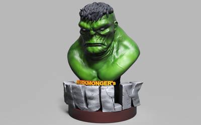 Hulk JerkMonger trophy REnder by SiluSP