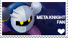 Meta Knight Stamp by BigYellowAlien