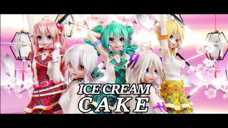 [MMD] Red Velvet - Ice Cream Cake by BigYellowAlien