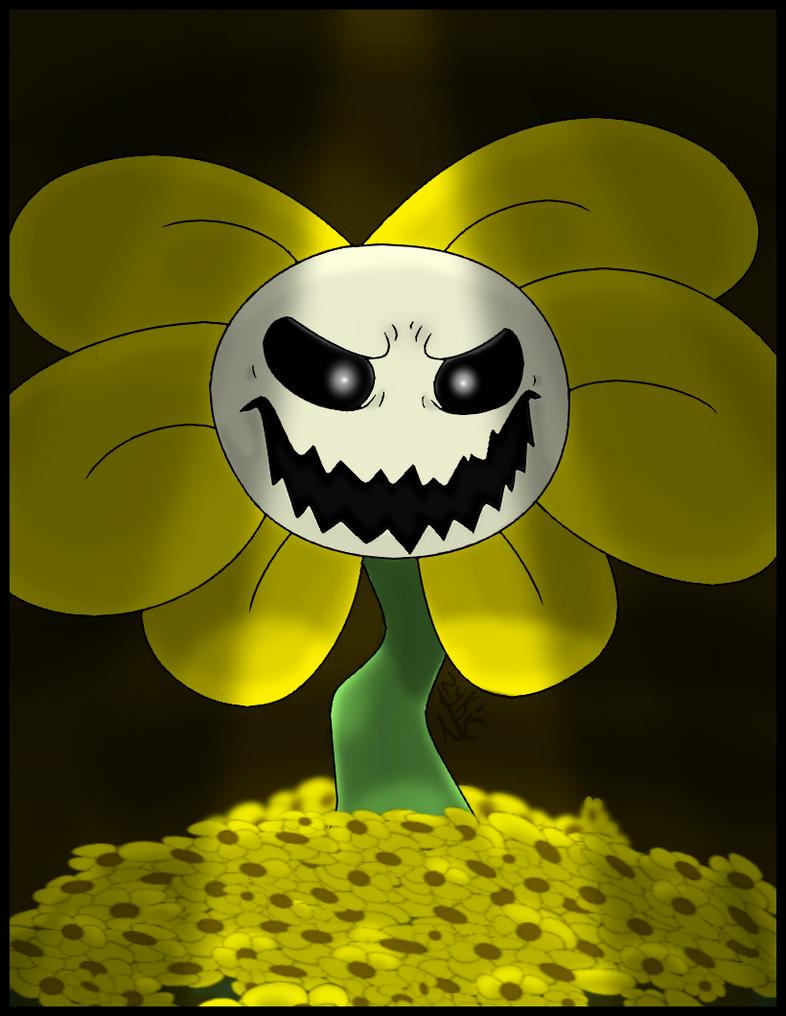 Flowey The Flower Undertale by Zykic